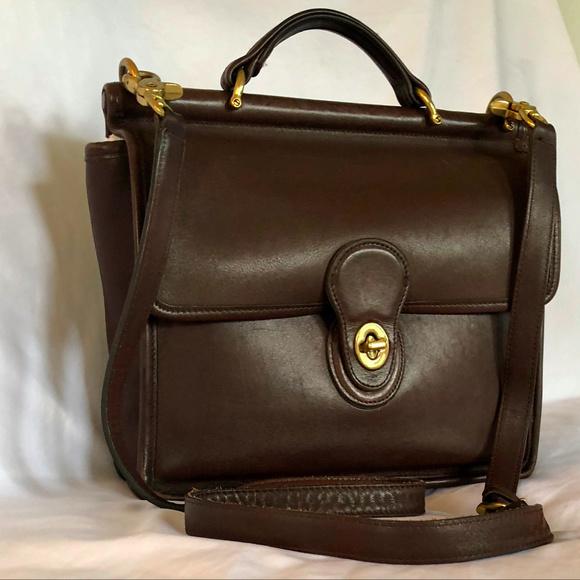 57cdd0854bb Coach Handbags - Rare Vintage - Coach - Willis Station Messenger